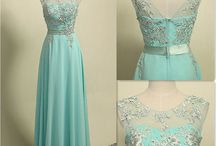 Blue Tiffany dress