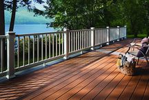 Trex Decking / Trex Decking is the number one decking brand of wood-alternative composite decking. Trex offers superior durability and performance that isn't available in wood products. It is termite resistant, does not rot or warp and never needs stained or painted. It is an environmentally-friendly option as well since it is made of 95 percent recycled materials. With Trex Decking's hidden fasteners, your deck has a smooth, clean surface with no visible screws.