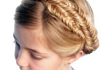 Pretty Hair style for girls
