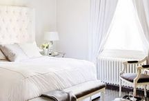 COLOR: WHITE / Room inspirations, design, and gorgeous interiors, all united by one common theme: white.