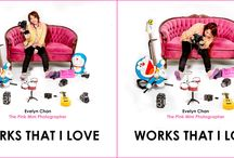 Works That I Love / A Book about PinkMini Photographer. ISBN 978-0-9936644-0-3 COMING SOON@@@@