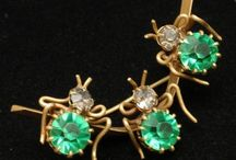 Vintage brooches / by Annette Kreps