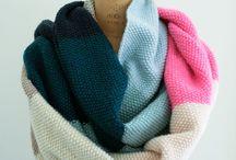 Снуды, шарфы