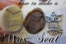 Seal the Deal / I'm sorry but hands down seals and sealing wax are the best. SO COOL!!! / by Gabby Alegret