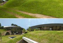 Earth sheltered / bermed homes
