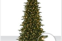 Christmas Tree / A Christmas tree is a decorated tree, usually an evergreen conifer such as spruce, pine, or fir or an artificial tree of similar appearance