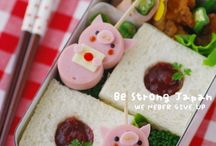 bento ideas  / by Heather Southwell