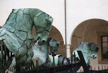 escultura ecuestre