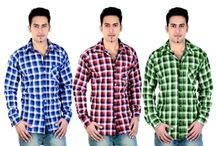 Celebrations Combo Of 3 Casual Shirts