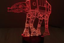 star wars 3D light