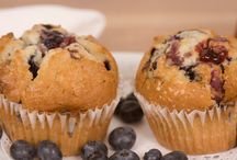 """Blueberry Muffins / """"These muffins are extra large and yummy with the sugary-cinnamon crumb topping. I usually double the recipe and fill the muffin cups just to the top edge for a wonderful extra-generously-sized deli style muffin. Add extra blueberries too, if you want!"""" For more visit http://bestlifeblueprint.bizblueprint.com/healthy-recipies/blueberry-muffins"""