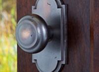 Montana Collection / Solid Bronze Decorative Door Hardware