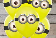 Minion Birthday Party! / A client called today to reserve a fun bouncer for her Minion themed birthday party - so let's design a board for all of our fun parties here in Sarasota and Manatee counties!  Party Jumpers - We Bring The Party! (941) 343-0370 www.partyjumpersinc.com