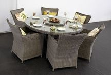 Rattan Dining Sets / Elegant dining sets for the perfect al fresco dining experience!