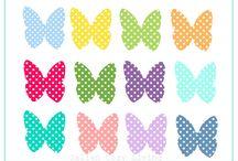 Schmetterlingedruck