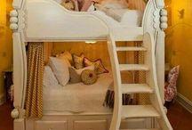 Quarto meninas decorados! / Veja + Inspirações e Dicas de decoração no blog!  www.construindominhacasaclean.com