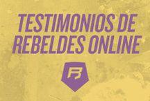 Testimonios / Descubre las opiniones Rebeldes Marketing online de primera mano. Nuestros alumnos y clientes te cuentan sus historias y su experiencia con nosotros.
