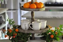 Kitchen island decor