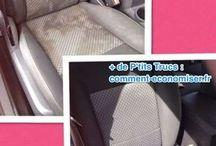 nettoyage siège voiture