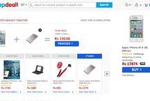 ecommerce / Ana sayfa - ürün detay - filtre - sepet