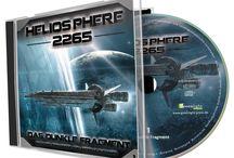 """Heliosphere 2265 - Hörspiel 1, """"Das dunkle Fragment"""" / Und hier Material zum ersten Hörspiel der Reihe """"Heliosphere 2265"""""""