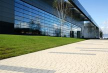 Commercial Buildings / Paving and walling