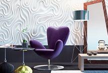Интерьерный декор (варианты оформления 3D-панелями, лепниной)