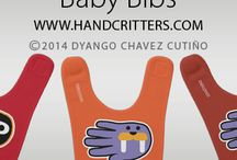 Baby Bibs / by Hand Critters
