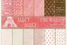 UHK Gallery 2015 - ALLO, ALLO - paper collection and inspirations