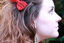 Crochet~ Jewelry & Hair Access.