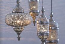 Inside lantern