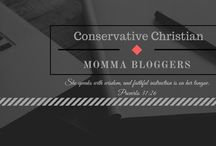 Conservative Christian Momma Bloggers / A collection of posts from the Conservative Chrisitan Momma Bloggers Facebook support group. Posts on Motherhood, Health, Fitness, Faith, Family Life, Natural Living, Minimalism, and more.  Please repin 2 other pins for each pin you leave here.