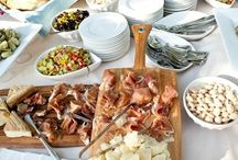 Buffets & bars / Ideas for feeding groups and crowds