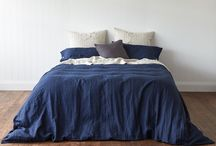 Montauk Pure Linen Quilt Covers / 100% pure linen quilt covers by Montauk Style.
