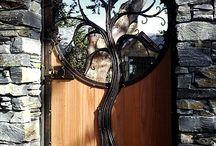 Ворота в сад даурен