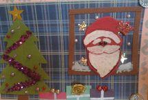 Kartka ze szpitala - Boże Narodzenie / Kartki przygotowane przez dzieci ze szpitala z okazji Bożego Narodzenia