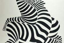 Victor vasarely / Eric Escher