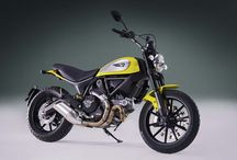 Retro Motorcycles / New motorcycles designed to look like they're from a previous generation.