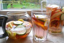cibi e bevande salutari / cibi e bevande naturali per il benessere