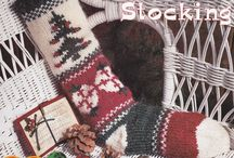 Christmas & winter crafts / Cross stitch and decorations