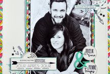 Pages de Scrapbooking / Pages de scrap