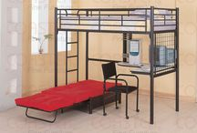 Love these bunkbeds / by Lydia