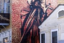 Street Art / Street Art, Graffiti, Stickers, etc.