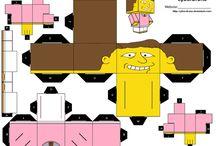 Simpsonovi paper craft