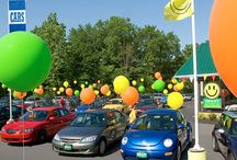 Car Dealers - Say it with balloons!