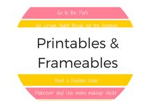 Printables and Frameables / Top printables and frameables , easy printable downloads for instant at home art, planners, calendars and more