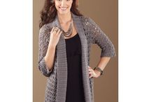 Crochet Adult Fashion Kits / Crochet fashion kits that will add that finishing touch to your wardrobe.