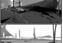 comp sketches
