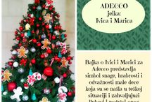 "Christmas Tree Competition / Christmas tree competition supporting DEBRA Association. This year's theme carries the name ""Fairytale."" Selection of the most beautiful decorated Christmas tree will be made by an independent jury that will award the winner with a special prize at a cocktail party on 9 December 2013 at 6:00 pm. / by Hyatt Regency Belgrade"