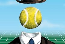 Tennis Art / Tennis art work